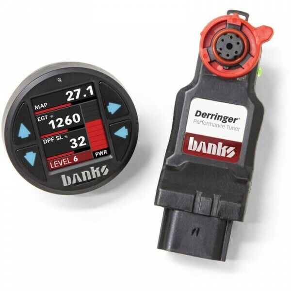 Banks Power BP66692 Derringer Tuner GEN2 With iDash 1.8 for 17-19 6.6L Duramax